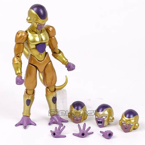 Boneco Articulado Golden Freeza Dragon Ball Super