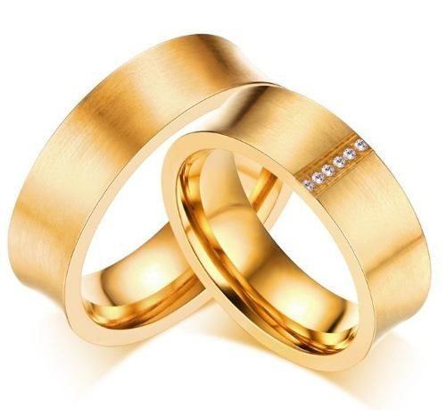 Par Alianças Casamento Noivado Compromisso Banhada Ouro 18k