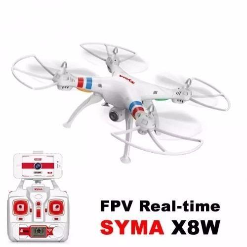 Drone Phantom Syma X8w Fpv Lipo Rc Foto Branco