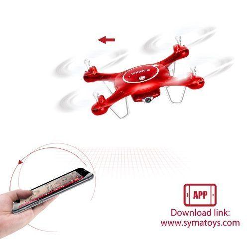Drone Syma X5uw Fpv Filma Hd (ao Vivo) + Kit Extra