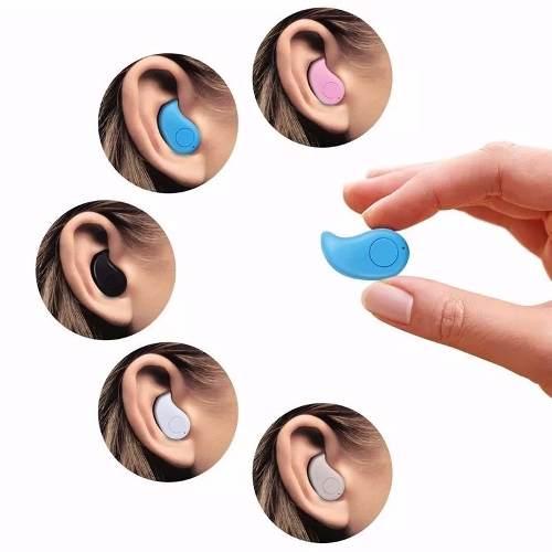 Mini Fone De Ouvido S530 V4.0 Sem Fio Bluetooth Micro Menor