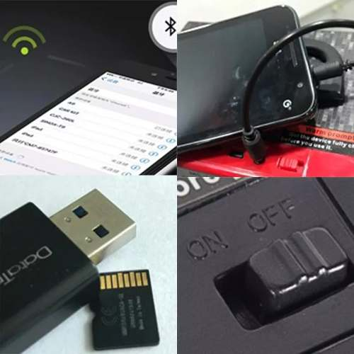 Caixa Caixinha Som Portátil Bluetooth Mp3 Usb Cartão Fm E13