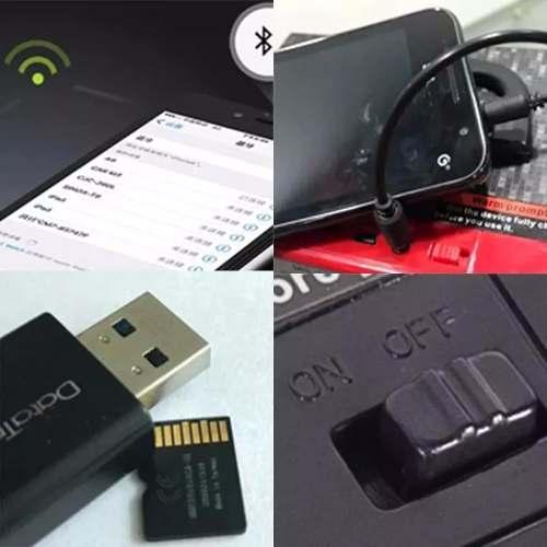 Caixa Caixinha Som Portátil Bluetooth Mp3 Usb Cartão Fm A78