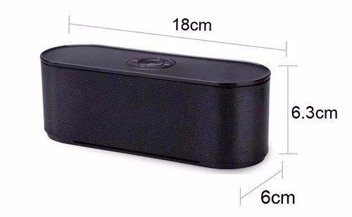Caixa De Som Bluetooth Usb Sd Mini Speaker S207