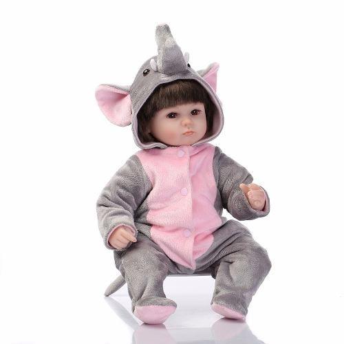 Boneca Reborn Linda Menina Princesa Elefante Pronta Entrega