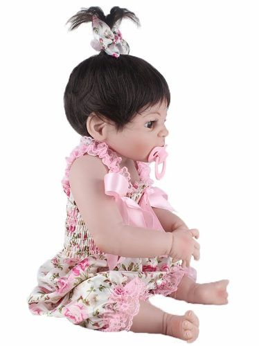 Boneca Bebê Reborn Silicone +brinde Pronta Entrega