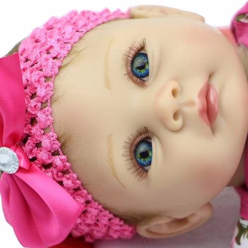 Boneca Reborn Linda Menina Princesa - Pronta Entrega