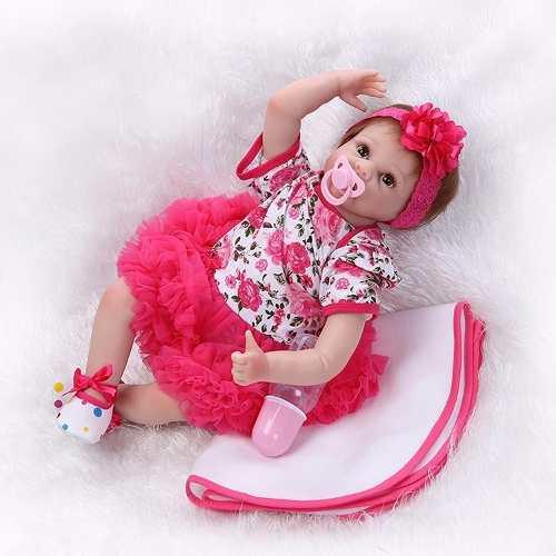 Bebê Reborn Boneca Larinha Pronta Entrega