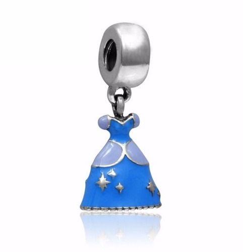 Berloques Compatível Vivara Pandora Vestido Princesas Disney