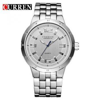 Relógio Masculino Curren Analógico 8036 Aço Inoxidável