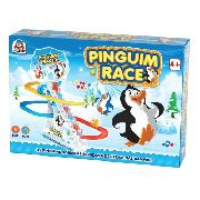 Pinguim Race - Com Luz E Sons! - Braskit