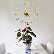 Relógio De Parede Monte Você Mesmo Espelho Sala Cozinha