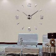 Relógio De Parede Metal Decorativo 3d