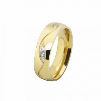 1 Aliança Casamento Noivado Compromisso Banhada Ouro 18k