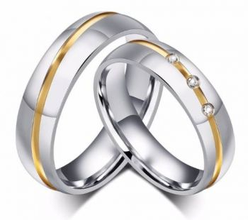 Par Aliança Namoro Prata Namoro Compromisso