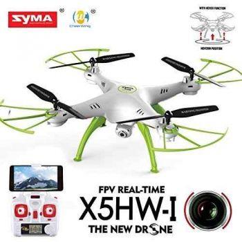 Drone Syma X5hw Com Camera Ao Vivo Wifi Fpv - X5sw X5c X8w