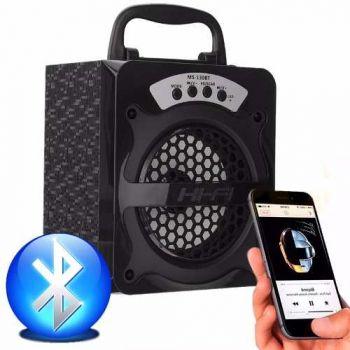 Caixa Caixinha Som Amplificada Bluetooth Mp3 Usb Cartão E83