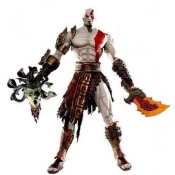 God Of War Kratos Vs Medusa Neca19cm Original Pronta Entrega