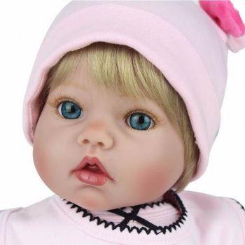 Boneca Reborn Silicone Linda Menina Princesa Pronta Entrega
