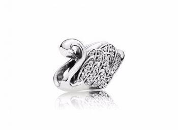 Berloque Pandora Charm Elegante Cisne