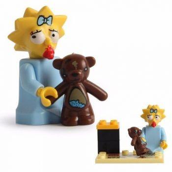 Maggie Simpsons Lego Compatível Boneco