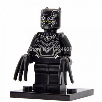 Bloco De Montar Lego Pantera Negra Vingadores Guerra Civil