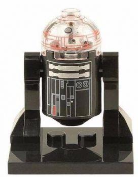 Boneco Minifigure Star Wars R2d2 Preto C2-b5 #22