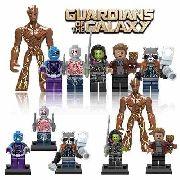 Lego Guardiões Da Galáxia Marvel Big Groot Vingadores