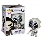 Boneco Funko Reaper Overwatch Blizzard Branco Pronta Ent