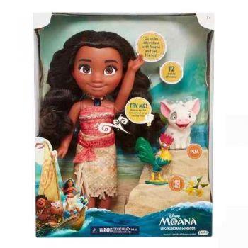 Boneca Moana De 35cm Que Canta E Fala Disney Jakks Pacific