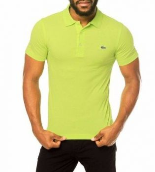 Camisa Polo Lacoste Bordado Verde