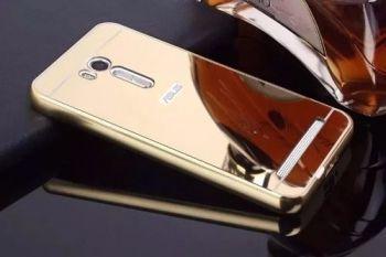 Capa Bumper Alumínio Espelhada Metal Zenfone Go Live Zb551kl