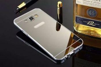 Case Capa Bumper Alumínio Espelhada Celular Galaxy J7 J700
