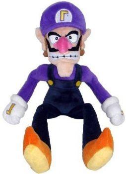 Bonecos Pelúcia Super Mario Bros Nintendo - Waluigi