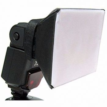 Difusor Flash Mini Softbox Universal Dobrável