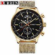 6cd60234e4 Promoção Relógio Masculino Curren Luxo Original 8227