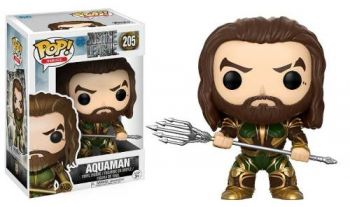 Funko Pop! Movies: Dc - Justice League - Aquaman #205