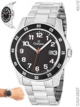 Relógio Champion Masculino Prata Ca31293t