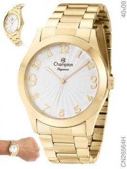 Relógio Champion Feminino Dourado - Cn26564h