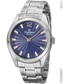 Relógio Champion Prateado Original Cn29865f + Nota Fiscal