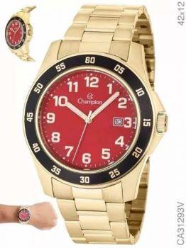 Relógio Champion Masculino Ca31293v Original Com Nota