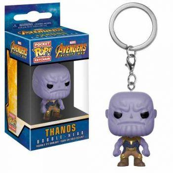 Funko Pop Chaveiro Thanos - Guerra Infinita Marvel Keychain
