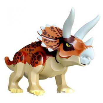 Lego Dinossauros Jurassic World Velociraptor Triceratóps