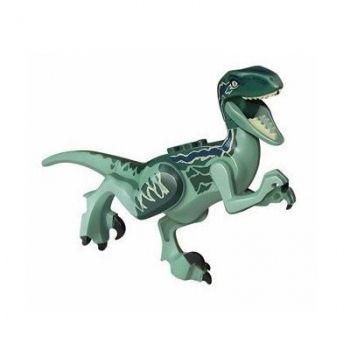 Lego Dinossauros Jurassic World Velociraptor Blue