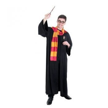 Fantasia Harry Potter Adulto Luxo Grifinória Completa