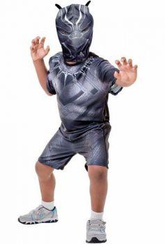 Fantasia Infantil Curta Pantera Negra Guerra Civil Original