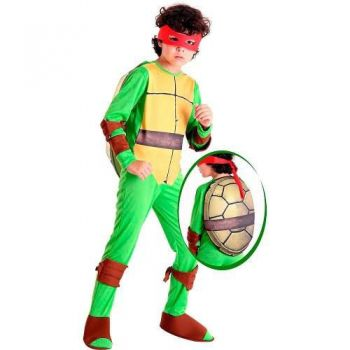 Fantasia Infantil Tartarugas Ninjas Raphael - Sulamericana