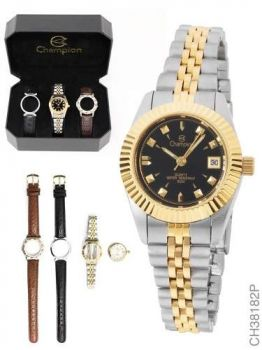 Relógio Feminino Champion Analógico Fashion Ch38182p