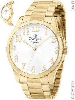 Relógio Champion Feminino Cn26019h Dourado