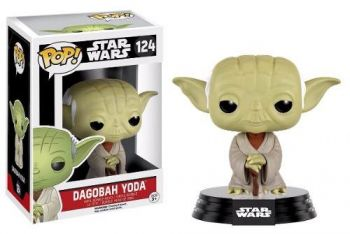 Funko Pop! Star Wars: Dagobah Yoda #124